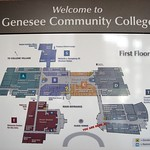 Genesee Community College Map