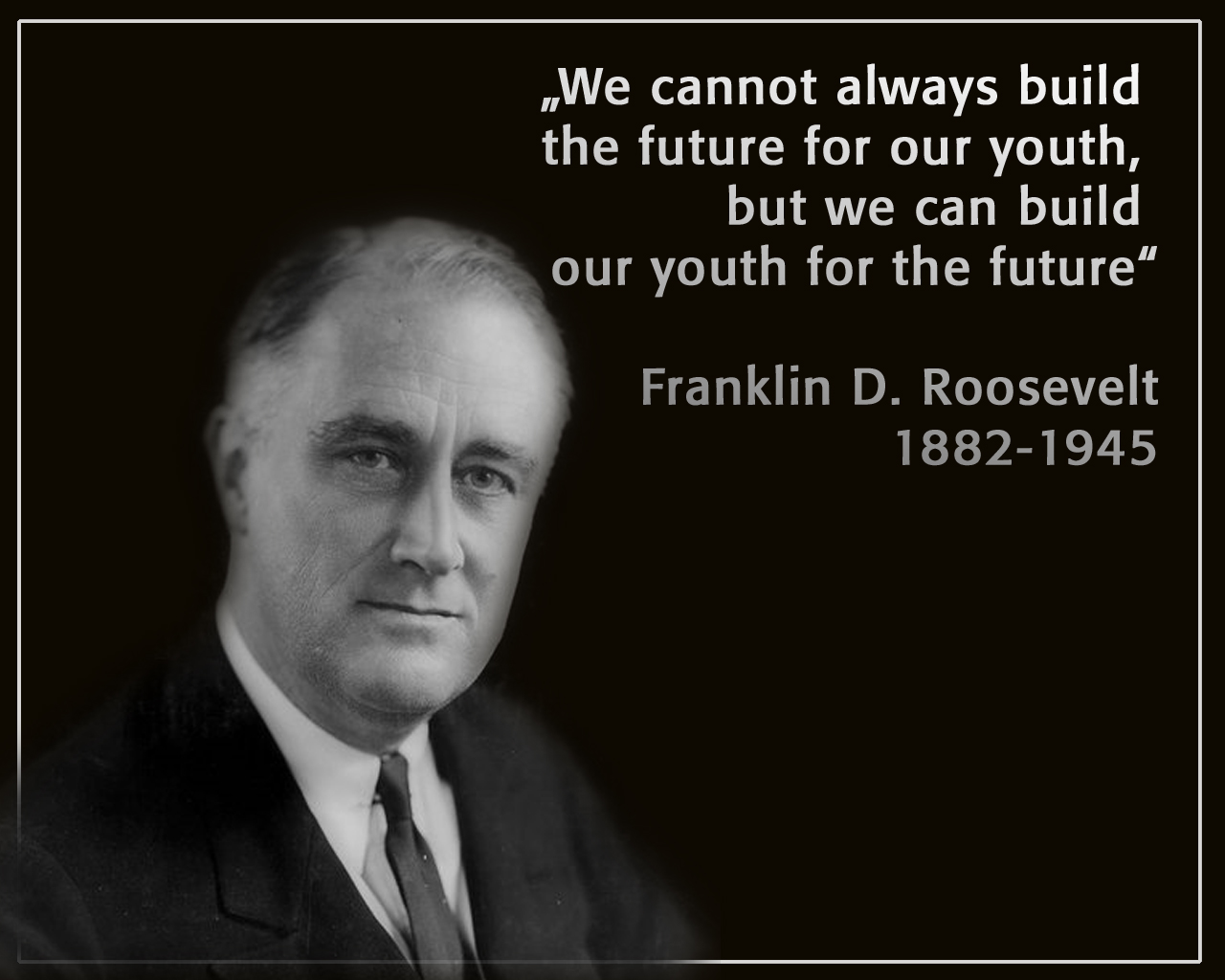Franklin D Roosevelt Quotes Fdrxor Vue