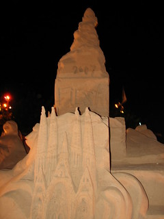 Sand Sculptures - FIESA 2007 - Wonders of the World (Maravilhas Do Mundo) - The International Sand Sculpture Festival (Festival Internacional de Escultura em Areia)  - Pera, The Algarve, Portugal