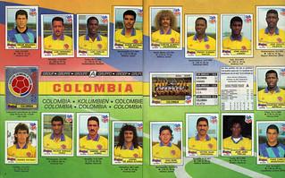 Seleccion Colombia 94