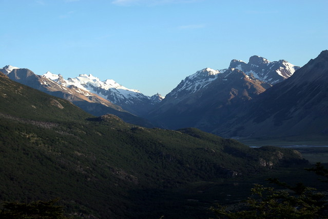 The Río de las Vueltas Valley - El Chalten Valley - Argentina