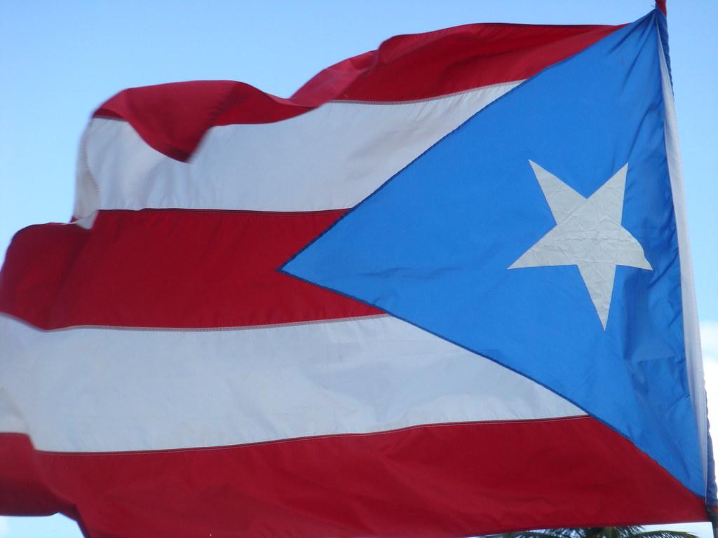 Los Colores De Mi Tierra Nuestra Bandera Puerto Rico Con