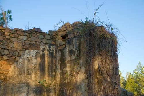 graveyard ruins