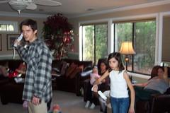 Sophia pitches to Uncle Jon