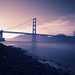 Golden Gate bridge - dusk