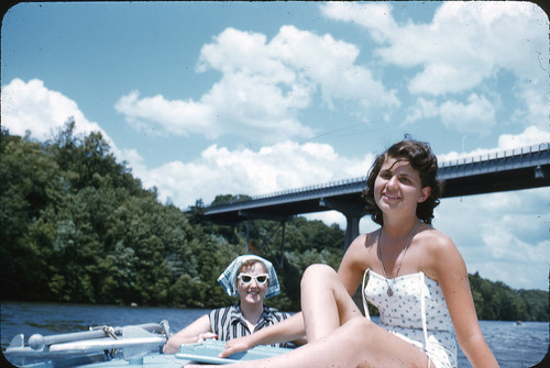 On the River 1950s