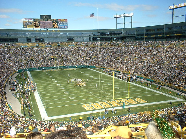 Green Bay Packers Lambeau Field Flickr Photo Sharing