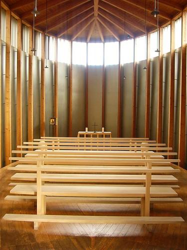 Peter Zumthor, Saint Benedict Chapel, 1985-88