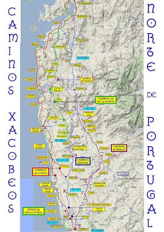 Etapas-Camino-Portugues-Costa-01