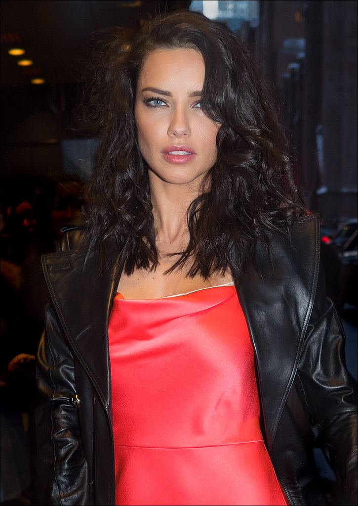 Adriana Lima arriving Jason Wu at the St. Regis...NYFW Feb. 2017