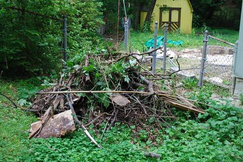 A huge pile