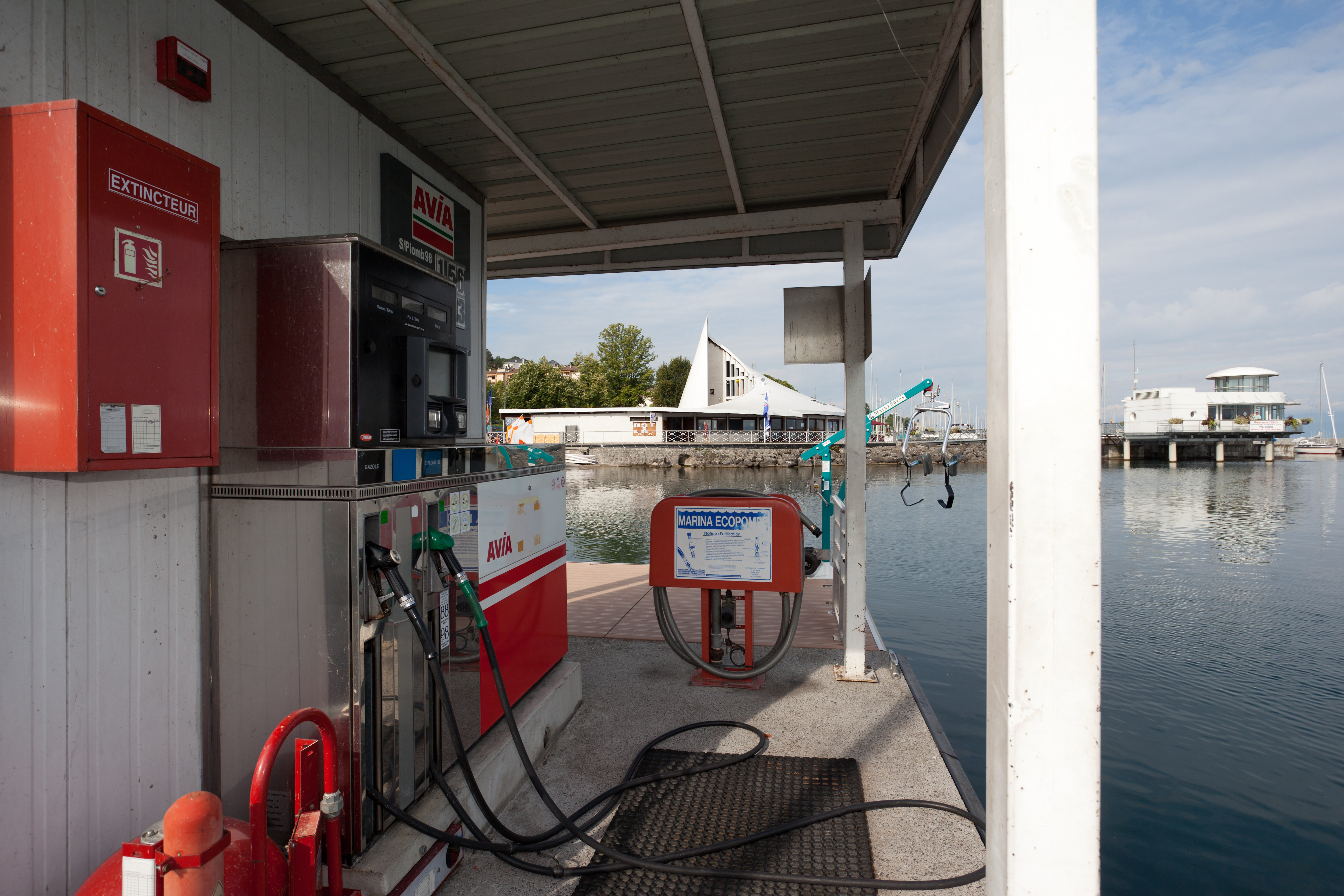 Port de plaisance - Station carburant