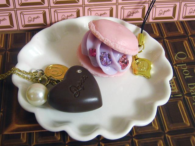 faux macaron & chocolate, Canon IXY DIGITAL 55