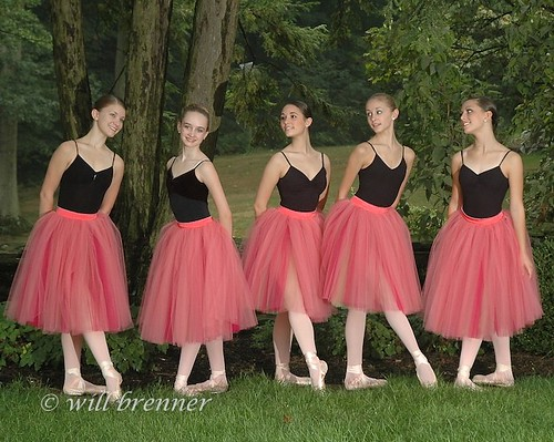 Ballet Portraits in Columbus, Ohio - Ballet Photography - Ballet Dancers at Jeffrey Park. by WB - CMH