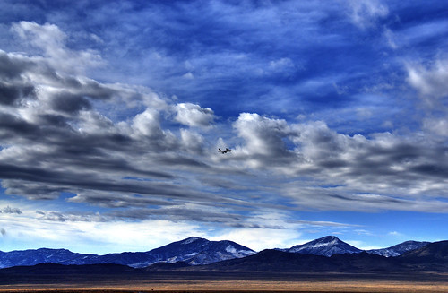 sky snow mountains clouds skyscape airplane landscape utah airport aircraft nevada jet airforce hdr usairforce wendover photomatix westwendover wendoverairforcebase bumpsandcircuits touchandgolanding