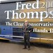Fred with the Fred '08 tour bus