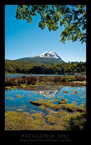 Parque Nacional Tierra del Fuego, Lago Roca