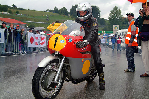 Salzburgring Jim Redman MV Agusta Copyright © 2012 Bernhard Egger :: eu-moto images - All rights reserved - no release!