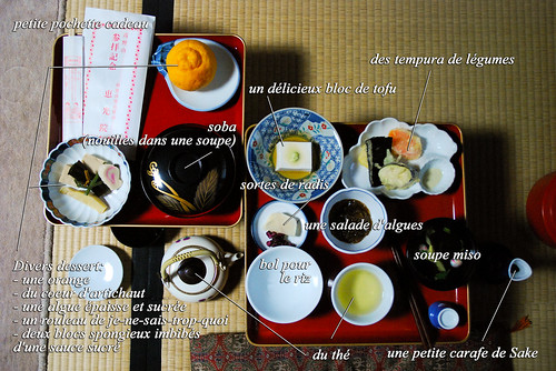 Un repas japonais