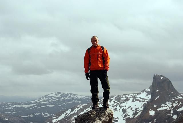 On top of Litltinden
