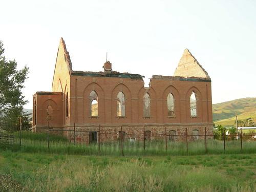 Porterville Ward ruin