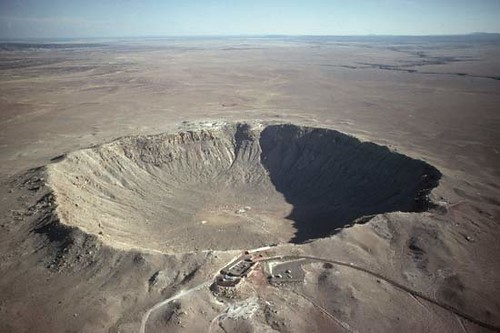 Meteor Crater, Arizona (from above)