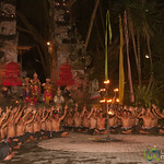 All Performers of Kecak Show - Ubud, Bali