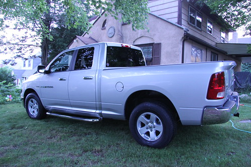 Driver side lower rear