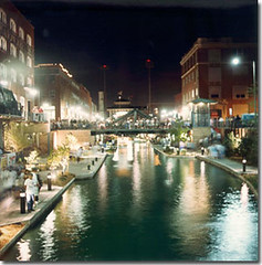 Image of Bricktown canal in Oklahoma City