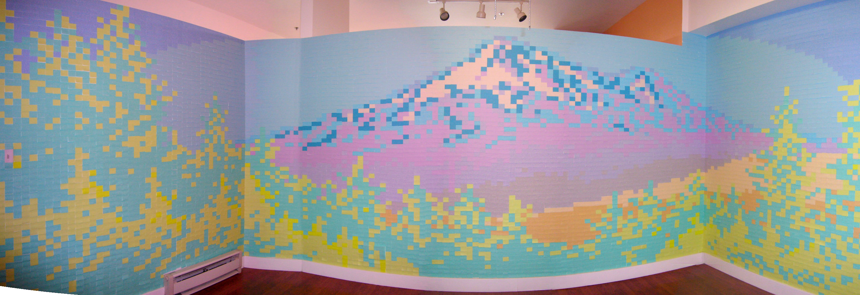 mt. shasta post it notes
