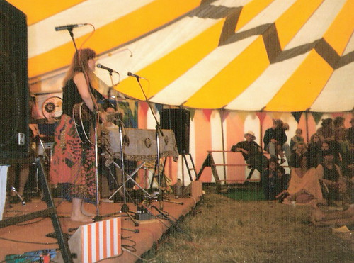 Glastonbury 1994 Sonja Kristina in Croissont Nuef