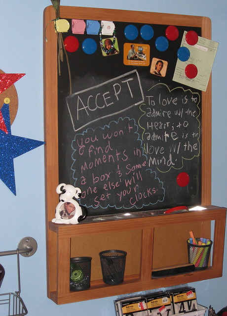 Ikea luns magnetic chalkboard a gallery on flickr for Ikea tableau magnetique