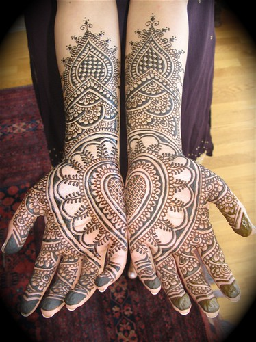 sri's mehndi hands