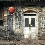 Bike and Lanterns - Pingyao, China