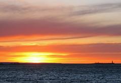 collingwood sun set