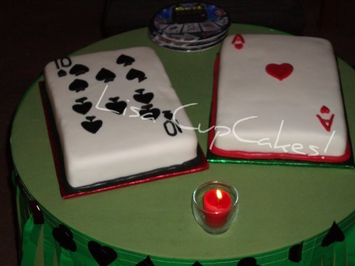 Playing Cards Cake Lisacupcakes Flickr