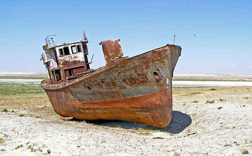 Aral Sea (Kazakhstan) - Naval Cemetery