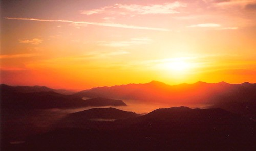 mountain 120 tlr sunrise mediumformat geotagged seagull korea twinlensreflex naejang baekyangsa geo:tool=yuancc geo:lat=35491984 baegyansa geo:lon=126916122