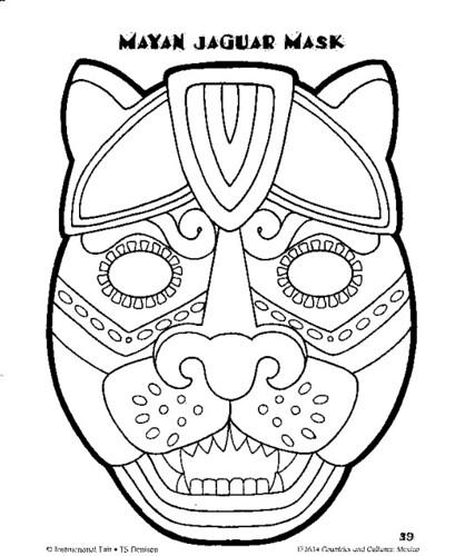 Mayan Jaguar mask | Flickr - Photo Sharing!