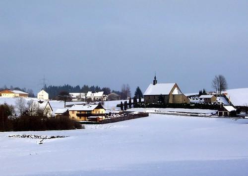 Winterlicher Frankenwald