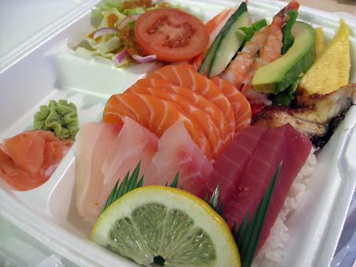Take-Out Chirashi Sushi