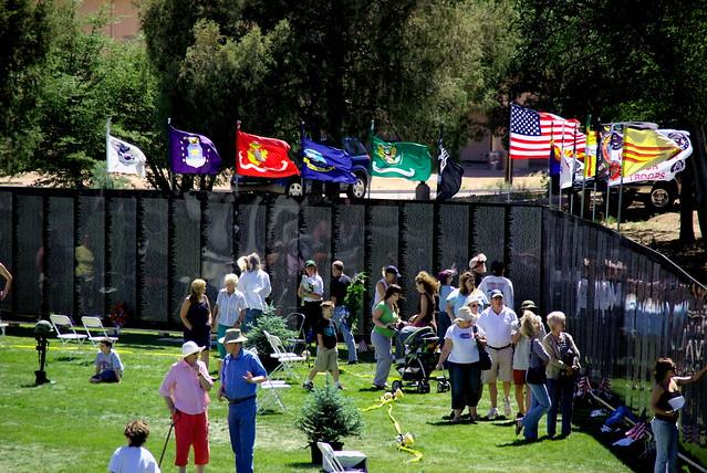 American Veterans Traveling Tribute Wall