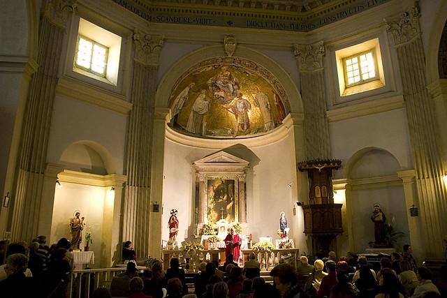 Tre Fontane  Santa Maria Scala Coeli