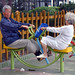 Senior Citizens in the Childrens Playground?