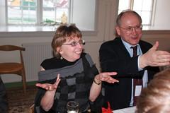 Sheila Riordan (Canadian SAO) and Anton Vasiliev (Russian SAO)