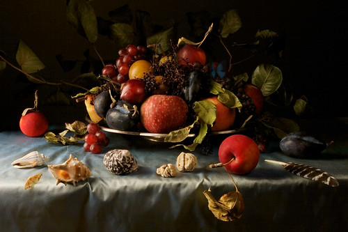 Paulette Tavormina, Crab Apples, after B.V.D.A. (from the series Natura Morta), 2008