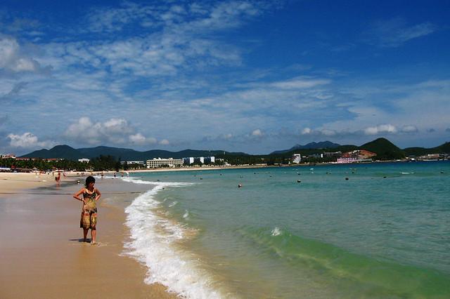 остров хайнань пляж
