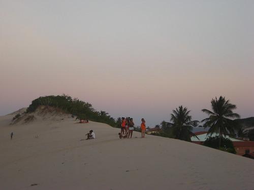 sunset sky beach sand dusk dune ceara iguape views25
