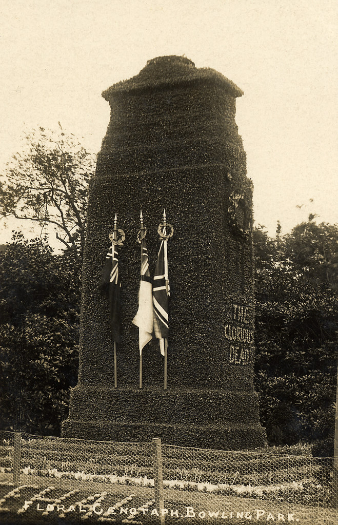 Floral Cenotaph, Bowling Park, Bradford