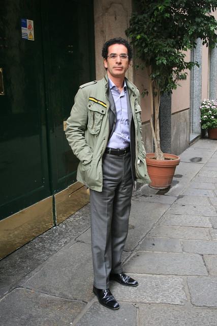 gentleman @ via della spiga.